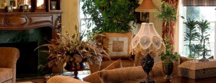 Smulkių ir dekoratyvinių detalių vieta svetainėje