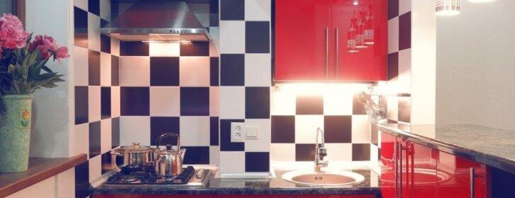 Kelių kvadratinių metrų virtuvė – idėjos, kaip stilingai įrengti net pačią mažiausią patalpą