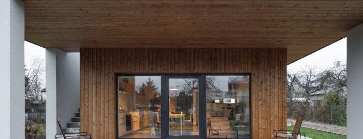 80 kv.m namas Vilniuje: esminis akcentas – terasa