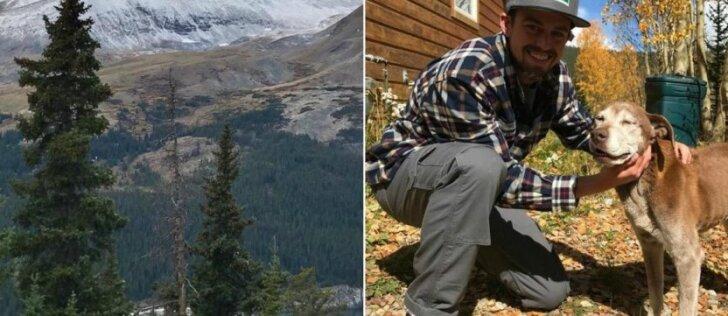 Pasiklydusi kalytė ant kalno praleido 6 savaites: laimė, atsirado gerų žmonių