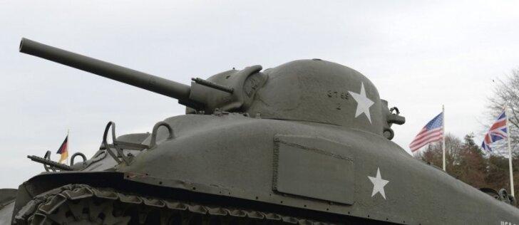 Antrojo pasaulinio karo mūšiuose dalyvavę tankai papildys privačias kolekcijas