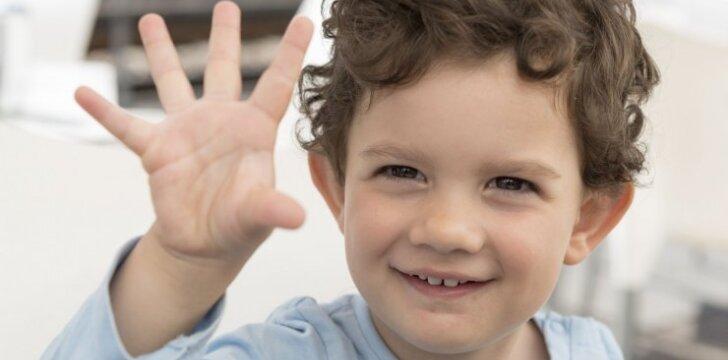 Penkiametis taisyklingai netaria garsų – laukti, kol išaugs, ar jau metas padėti?