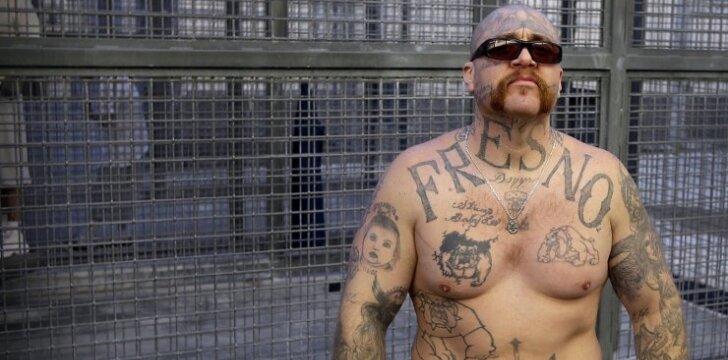 San Kventino kalėjimas. Mirties bausmės laukiantis Robertas Galvanas