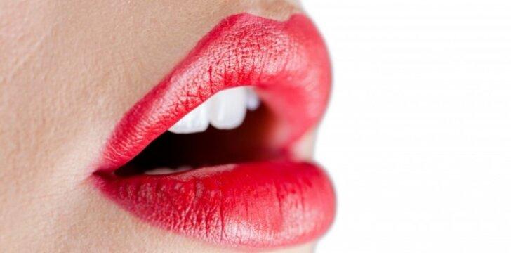 """Plonos, o gal putlios? Ką lūpos <span style=""""color: #c00000;"""">atskleidžia</span> apie tavo charakterį"""