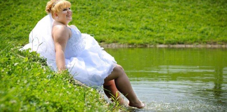 Apvalių formų moterys yra laisvesnės intymiame gyvenime.