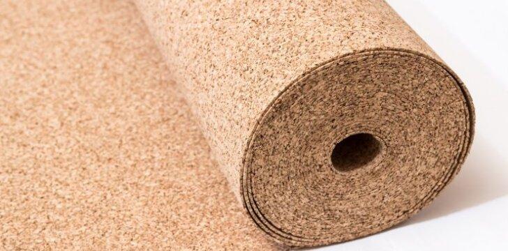 Kodėl verta rinktis kamštinę medžiagą interjero apdailai?