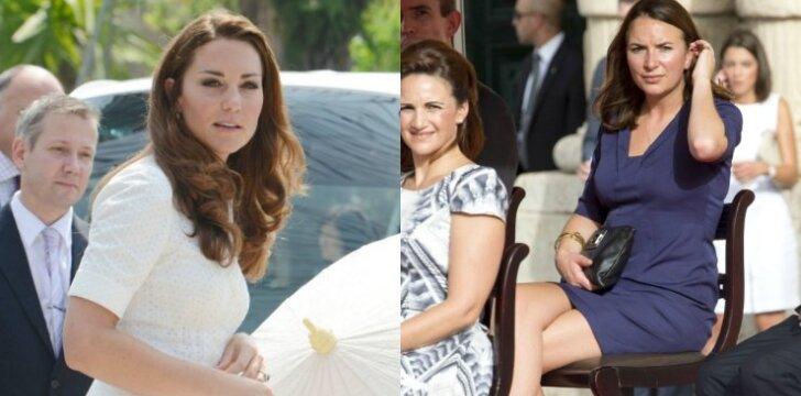 "Kate Middleton pašonėje - <span style=""color: #ff0000;"">slapta konkurentė</span> <sup>FOTO</sup>"