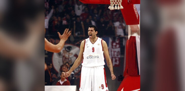 """Ioannis Bourousis (""""Olympiacos"""")"""