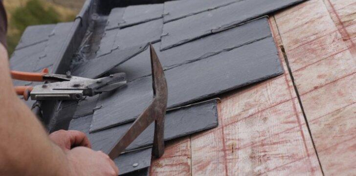Skalūnai – ir stogams, ir fasadams