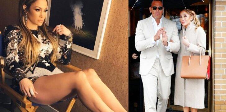 Šalia naujo mylimojo Jennifer Lopez tiesiog pražydo!