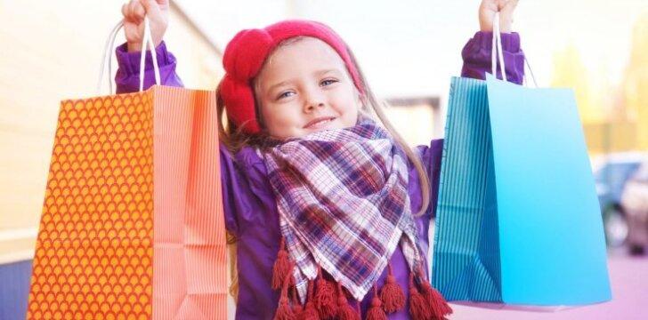 Austėjos Landsbergienės patarimai, kad apsipirkimas su vaikais netaptų košmaru
