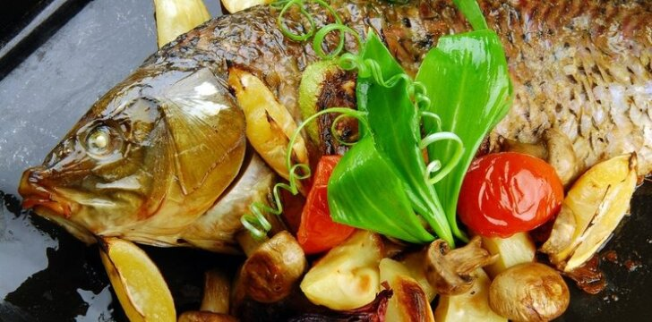 Itališkas kepto karpio receptas