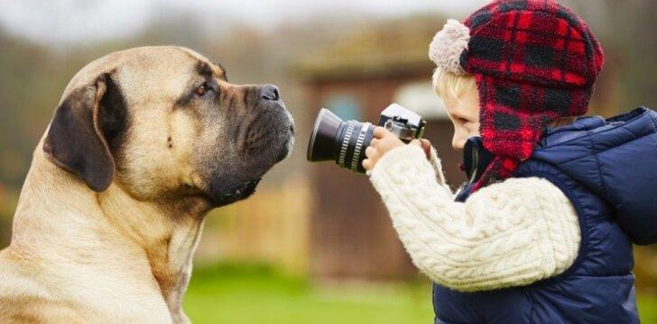 10 geriausių šunų veislių šeimoms su vaikais
