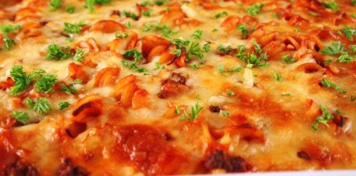 Makaronų pica