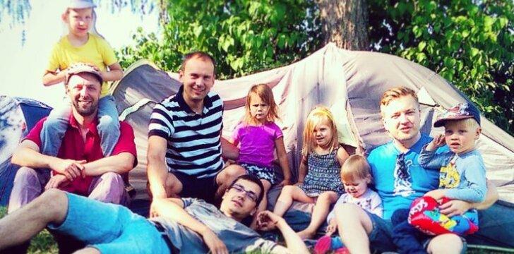 Lietuvis tėtis pristato neregėtą iniciatyvą – švęsti drauge tėvadienius