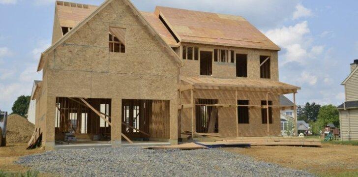 Ar rinktumėtės gyventi karkasiniame name?