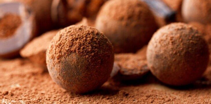 Šokoladinės bulvytės