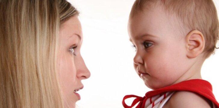 """Kodėl nereikia su vaikais kalbėti """"caca"""" ir """"lialia""""?"""
