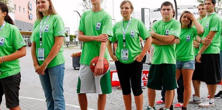 Europos U18 krepšinio čempionato savanoriai