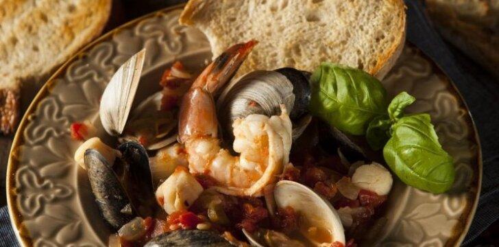 Sardinijos gyventojų mėgstamas patiekalas