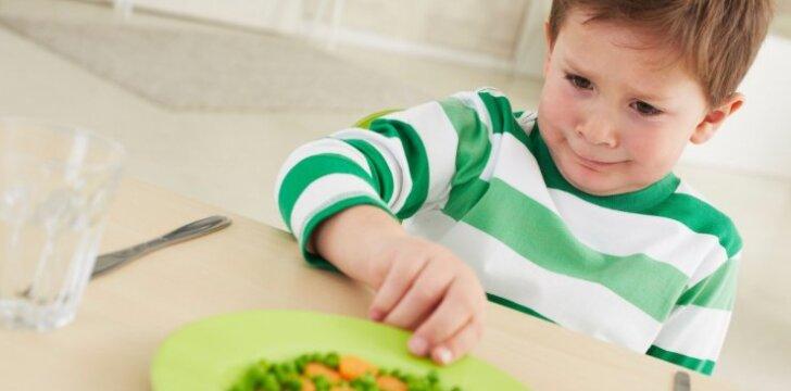 Vaikas nevalgo: kas nutiks, jei versime jį paklusti