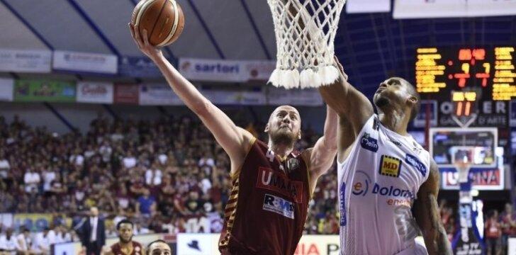 """Italijos krepšinis """"Umana Reyer"""" – """"Dolomiti Energia"""""""