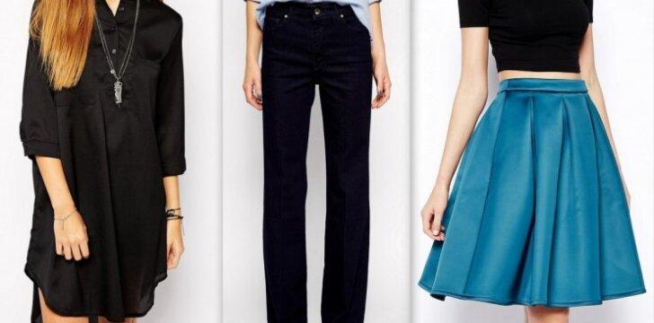 """Stiliaus patarimai: ką dėvėti moteriai, kurios <span style=""""color: #ff0000;"""">platūs klubai</span> <sup>FOTO</sup>"""