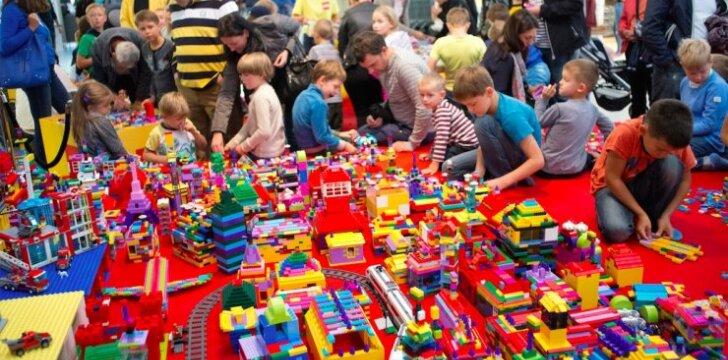 Didžiuosiuose Lietuvos miestuose LEGO gerbėjai sieks rekordo