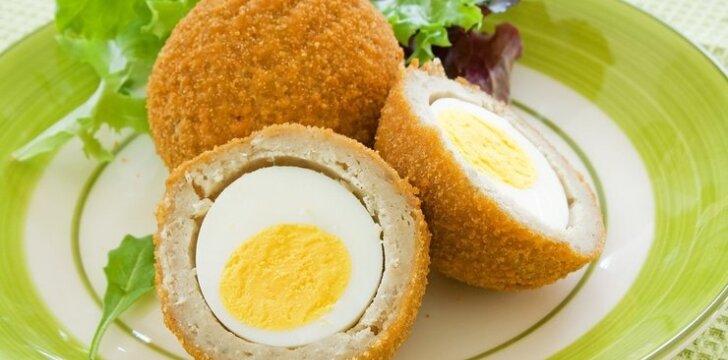 Škotiškas kiaušinių receptas