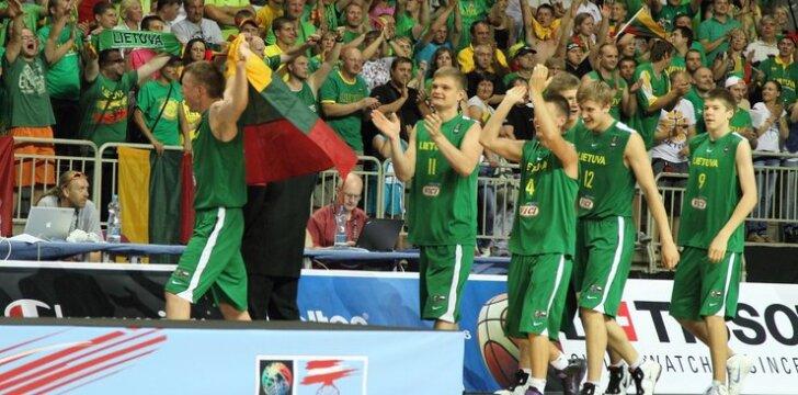 Lietuvos ir Serbijos U-19 krepšinio rinktinių finalas
