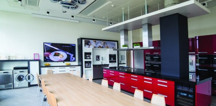 Virtuvė, atvira visiems