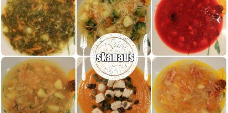 """<span style=""""color: #ff0000;"""">GREIČIAU NEBŪNA:</span> 8 naminių sriubų receptai"""