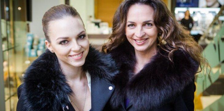 Evelina Young su mama Jurga Anusauskiene