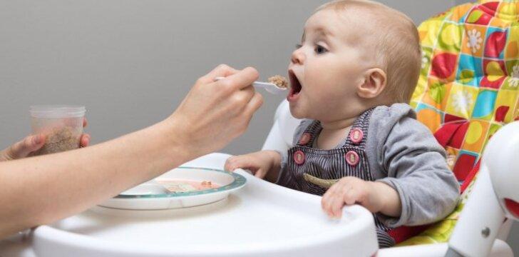 Kurią košę sveikiausia valgyti vaikams