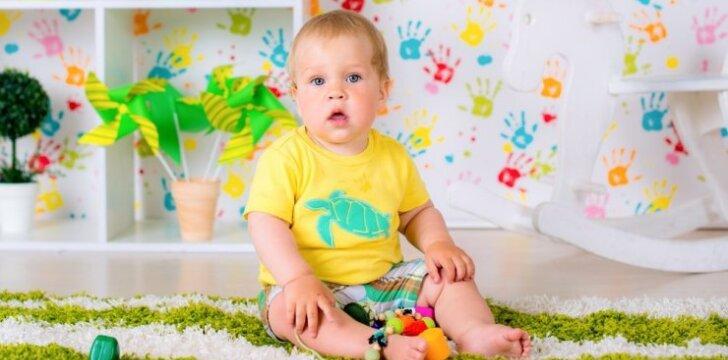 Kokių klaidų nedaryti įrengiant vaiko kambarį