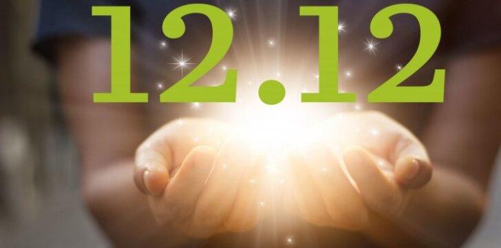 ŠIANDIEN - paskutinė šiais metais <strong>magiškoji data 12.12</strong>