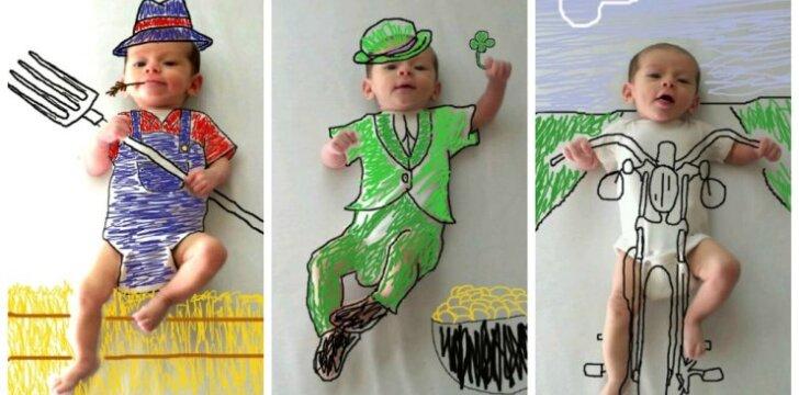 """Kūdikis, kuris netyčia tapo interneto žvaigžde <sup style=""""color: #ff0000;"""">FOTO</sup>"""