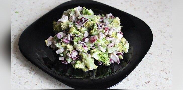 Brokolių salotos