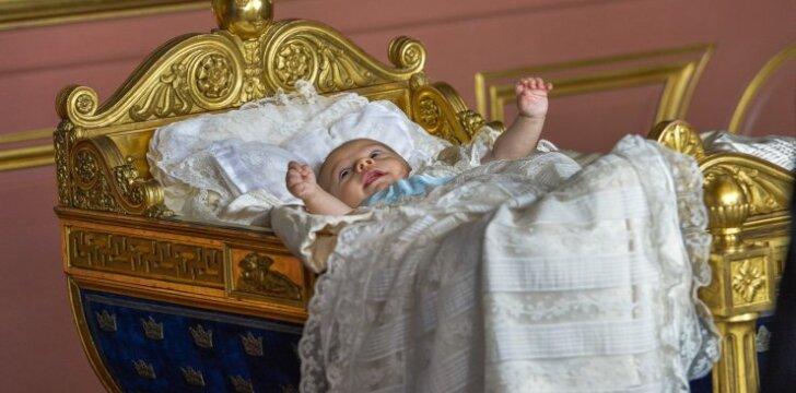 Įspūdingiausios nuotraukos iš karališkųjų krikštynų