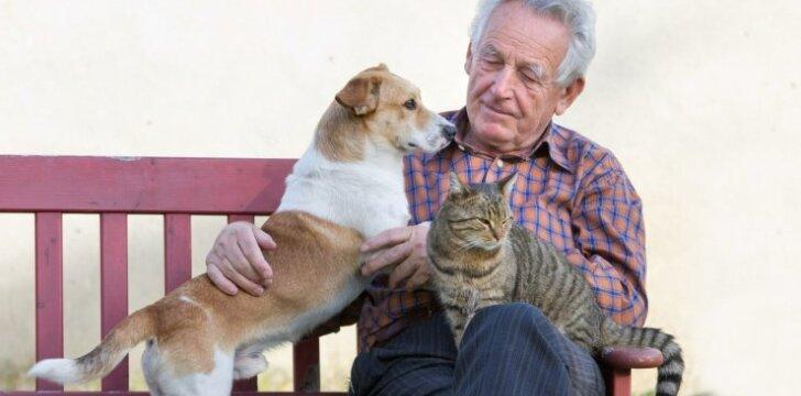 Gyvūnai senjorams