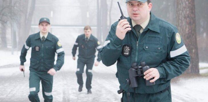Aplinkosaugininkai patruliuoja