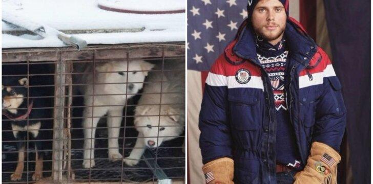 Amerikiečių sportininkas išgelbėjo daugiau nei 90 šunų