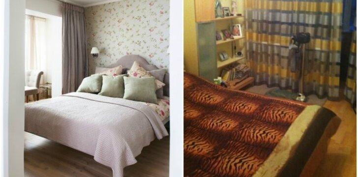 """<span style=""""color: #ff0000;"""">PRIEŠ ir PO:</span> 3 kambarių 70 kv.m. buto Vilniuje atgimimas"""