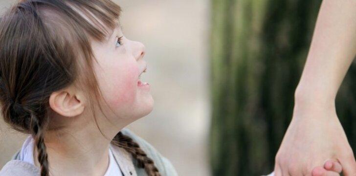Dauno sindromas netrukdo mergaitei siekti svajonės