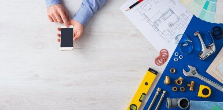 5 mobiliosios programėlės tikram namų meistrui
