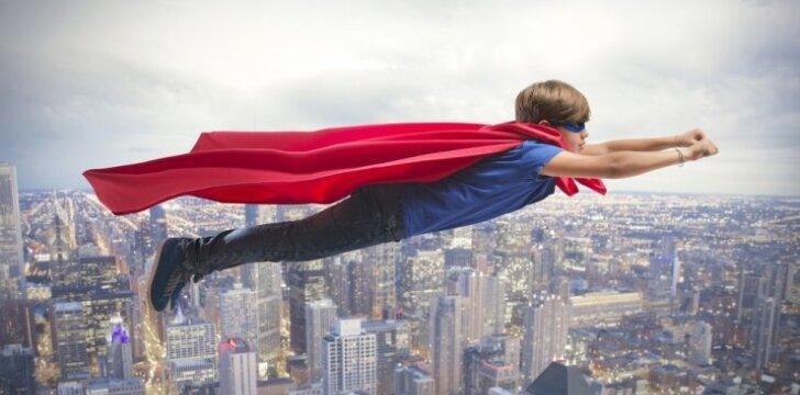 """Įspūdinga vaiko reakcija pirmą kartą pamačius Supermeną <span style=""""color: #ff0000;""""><sup>VIDEO</sup></span>"""