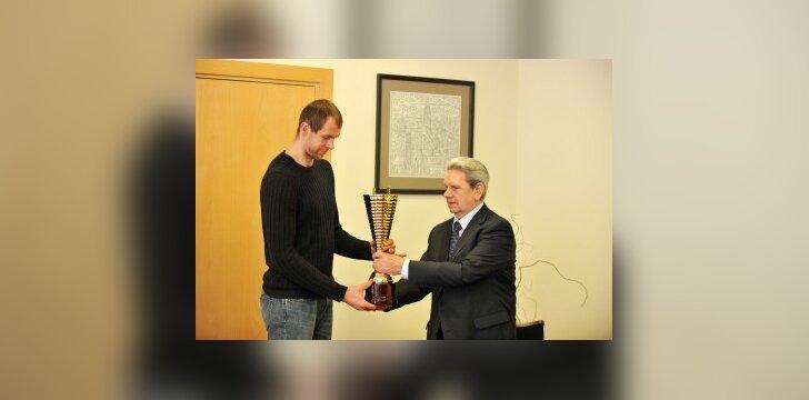 Geriausias 2008 metų Lietuvos krepšininkas - R.Šiškauskas