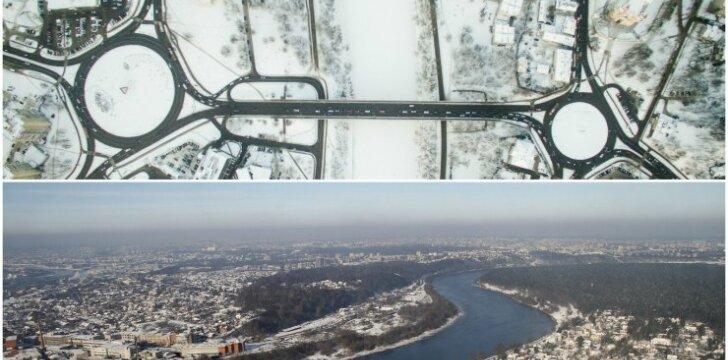 Vilnius ir Kaunas žiemą