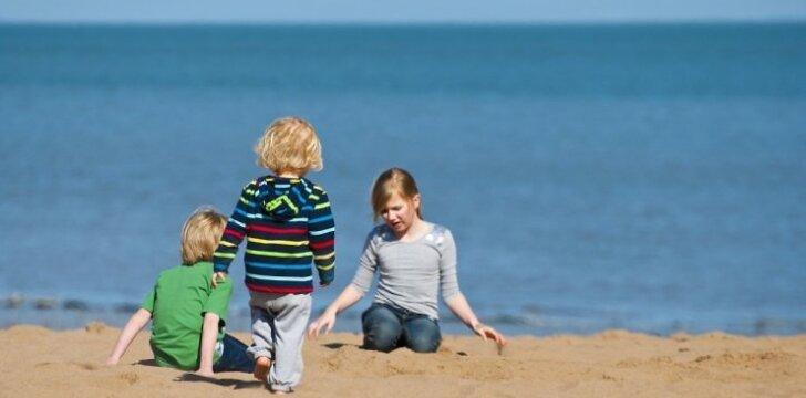 Žaidimai su smėliu vaikus gali... gydyti