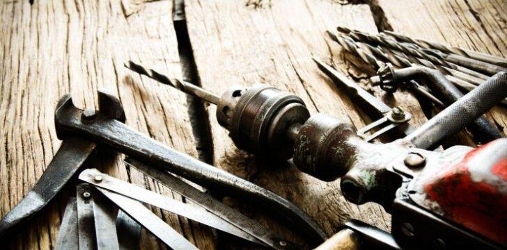 Kaip išlaikyti savo įrankius tvarkingus ir neleisti jiems rūdyti